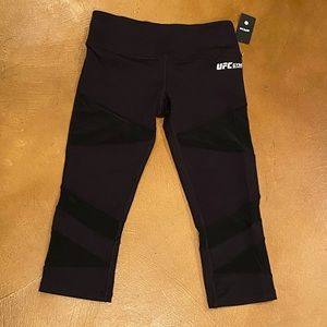 UFC women's crop leggings